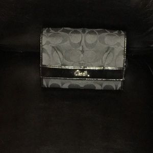 Coach Black Wallet